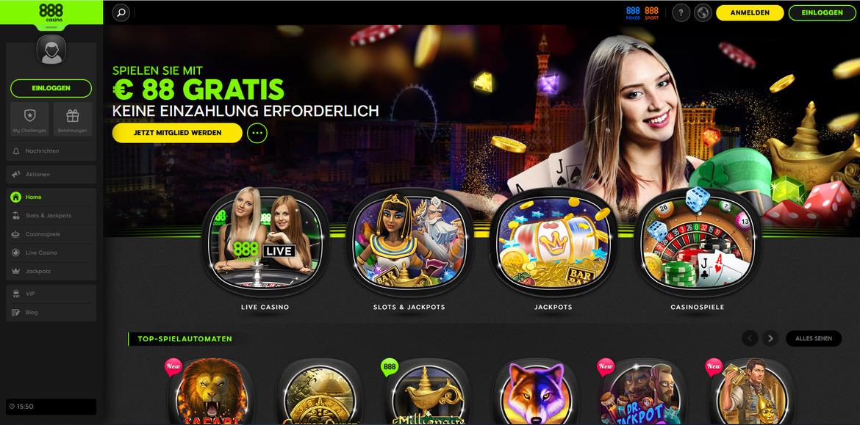 888 Casino Aktionscode Spielen
